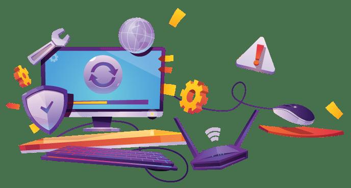 عقود صيانة كمبيوتر للشركات